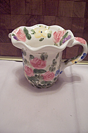 English Garden Pattern Porcelain Creamer