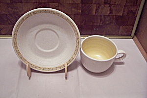 Franciscan Earthenware Pattern 156-69 Cup & Saucer Set
