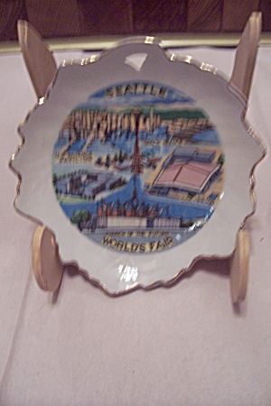 Seattle World's Fair Souvenir Porcelain Dish