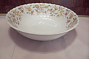 International China Sonnet Rosa Pattern Serving Bowl