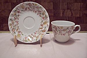 International China Sonnet Rosa Pattern Cup & Saucer