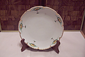 Bavarian Hand Painted China Collector Plate