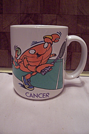 Porcelain Astrology Sign Cancer Mug
