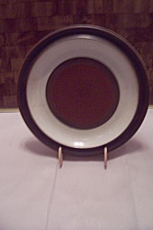 Denzy Brown And Cream Stoneware Dinner Plate