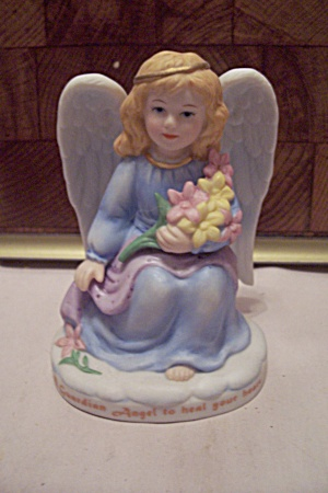 Bronson Collectibles Porcelain Girl Angel Figurine