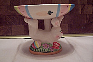 Studio 33 Porcelain Easter Bunny Soap Dish