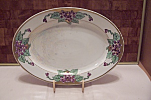 Z, S & G Bavaria China Oval Platter