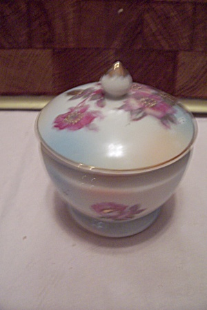 Thames Porcelain Hand Painted Mlidded Cache Pot