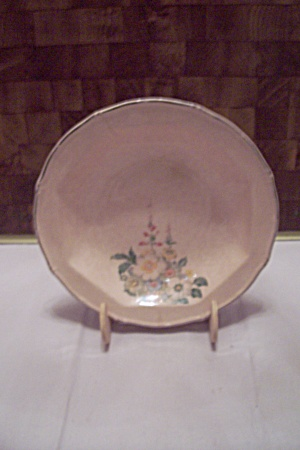 Taylor, Smith & Taylor Floral Decorated Bowl