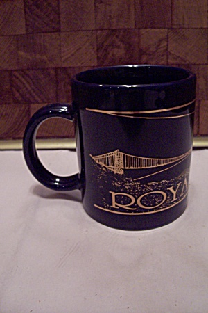 Black Porcelain Royal Gorge Souvenir Mug