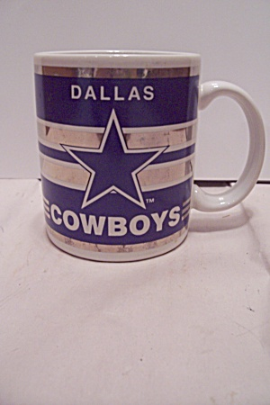 Dallas Cowboys Football Team Porcelain Mug