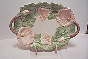 Fitz & Floyd China Lotus Blossom Tray