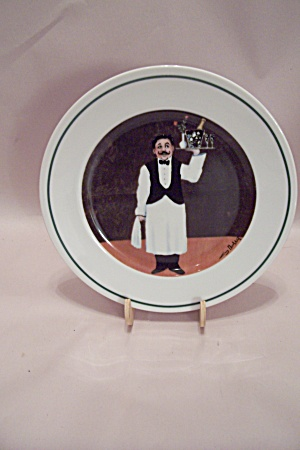 Williams-sonoma Sommelier China Room Service Plate