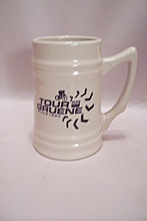 Bicycle Tour Gruene Porcelain Beer Mug