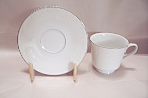 Carriage House Young Lace Pattern China Cup & Saucer