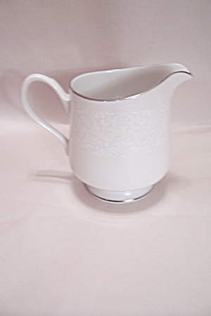 Carriage House Young Lace Pattern Fine China Creamer