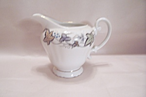 Style House Bordeaux Pattern Fine China Creamer