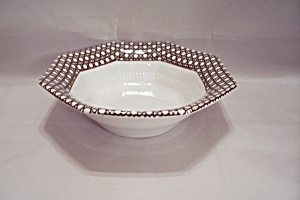Nikko Classic Collection Brown Cane Border Soup Bowl