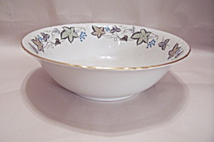 Style House Bourdeaux Pattern Fine China Serving Bowl