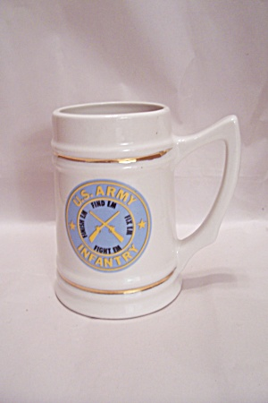 U. S. Army Infantry Porcelain Beer Mug