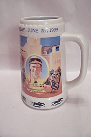 All-star Jockey Championship Porcelain Beer Mug