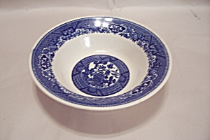Royal China Willow Pattern Coupe Soup Bowl