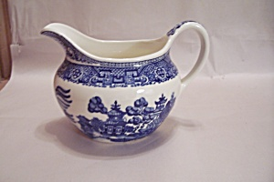 Royal China Willow Ware Pattern China Creamer