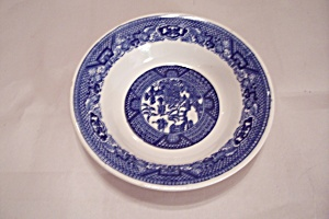 Royal China Willow Ware Pattern China Dessert Bowl
