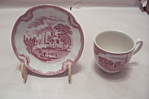 Johnson Brothers Porcelain Cup & Saucer Set