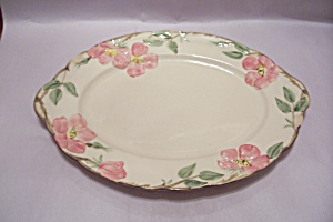 Franciscan Desert Rose Pattern China Oval Platter