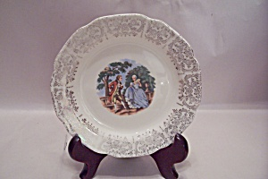 Sabin Colonial Couple China Bread & Butter Plate