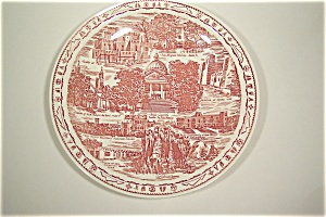 New Mexico Collector Plate (Vernon Kilns)