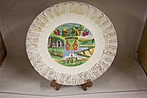 Tennessee State Souvenir Plate