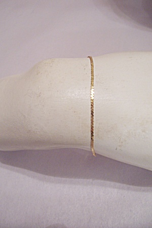 Fine Gold Plated Ankle Bracelet