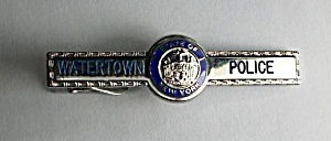Obsolete State Of New York Watertown N.y. Police Tie
