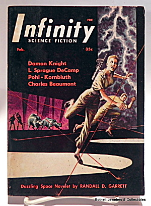 'infinity' Science Fiction Mag Vol. 1, #2, Second Issue