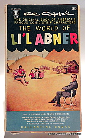 'the World Of Li'l Abner' By Al Capp Vintage Book 1959