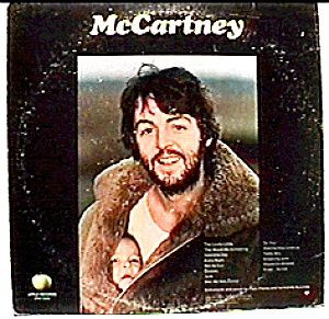 Paul Mccartney 'mccartney' Lp Record Album
