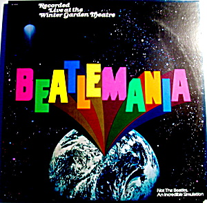 1978 Beatlemania Vintage Lp Vinyl Record