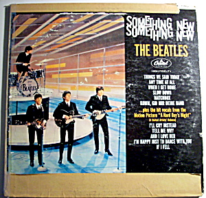 Something New - The Beatles Vintage Lp Vinyl Record