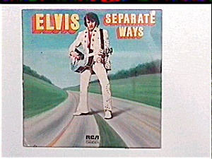 Elvis Presley Separate Ways Lp Record