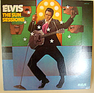 'elvis - The Sun Sessions' Vintage Mono Lp Record