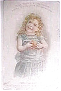 Vintage Ad Mince Meat Pie Little Girl