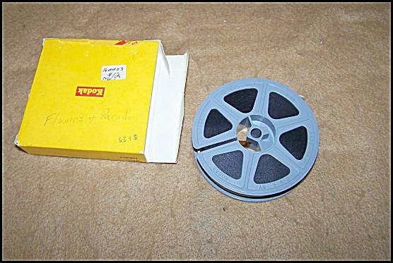 1960's 16mm Home Movie Of Flowers & Shrine Parade