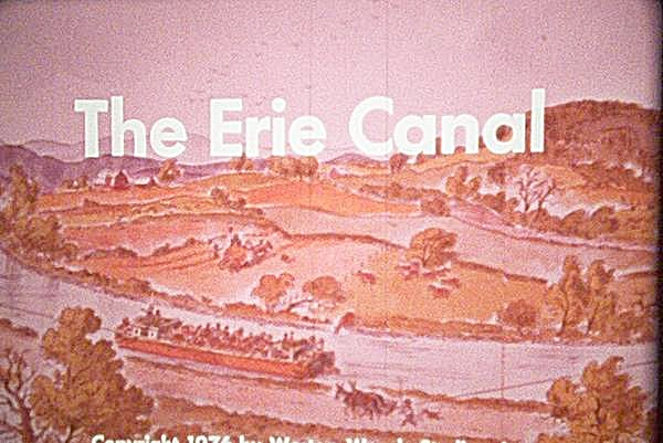 16mm Film Entitled The Erie Canal