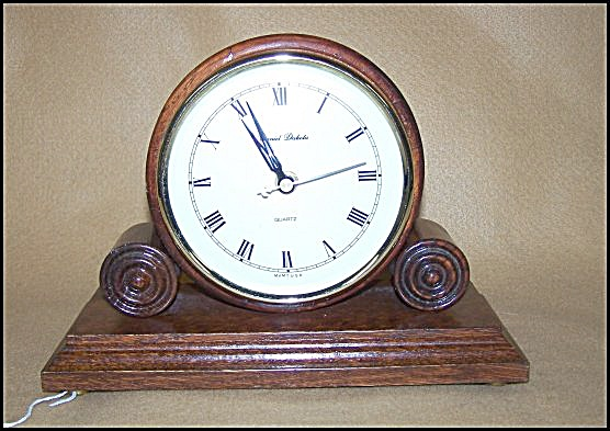 Famous Daniel Dakota Reproduction Table Clock