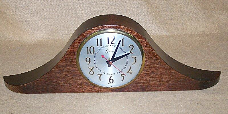 Collectible Sessions Swept Wing Mantel Clock
