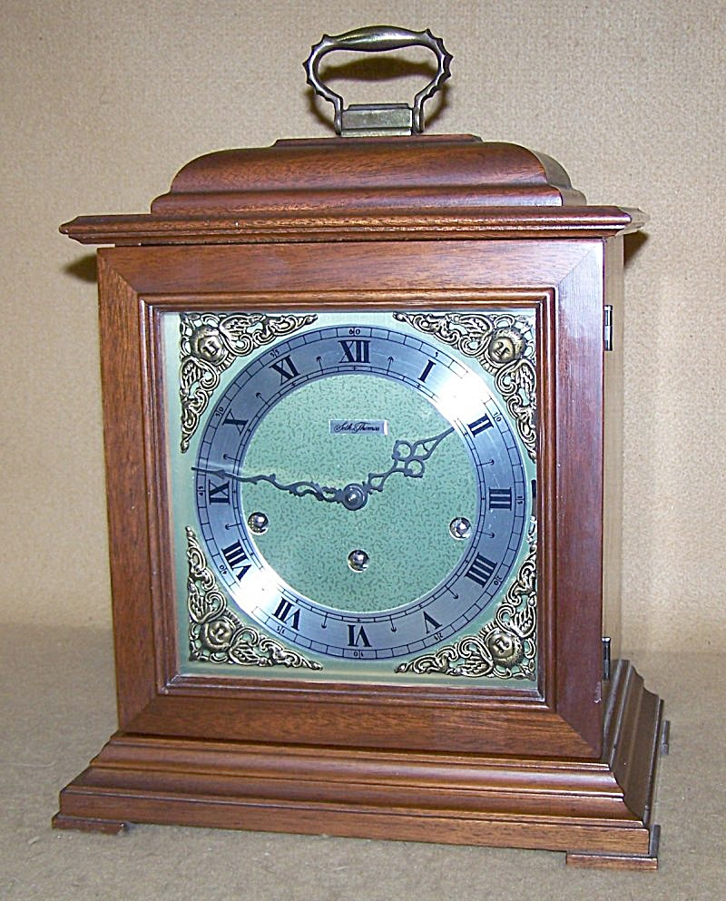 1970's Seth Thomas Chiming Carriage Mantel Clock 2796