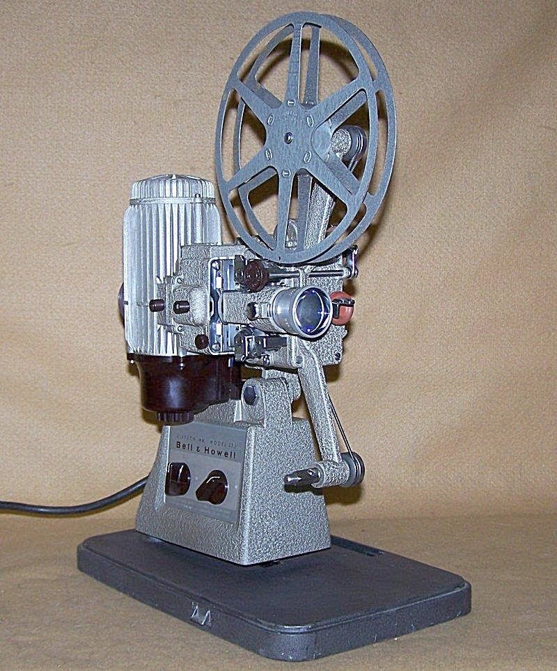 Vintage Bell & Howell16mm Movie Projector Mod 273
