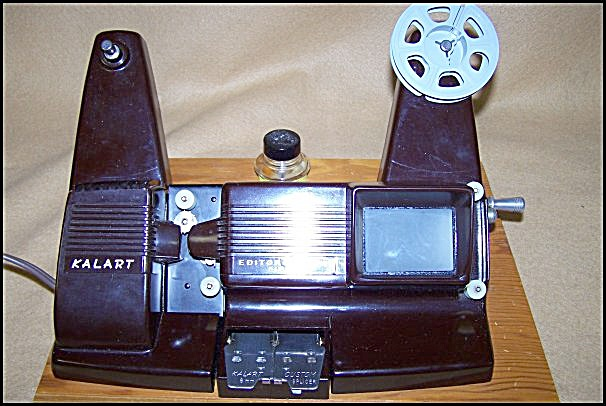 1950's Kalart Bakelite Mod Ev-8 8mm Movie Film Editor